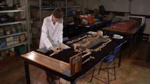 Richard lll bones
