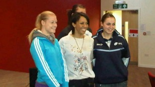 Olympian Dame Kelly Holmes