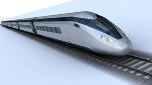 The potential HS2 train design.