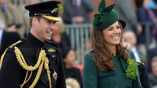 Wills and Kate celebrate St Patrick's Day