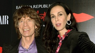 Mick Jagger and L'Wren Scott pictured in November last year.