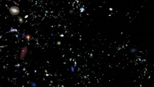 Video takes us on a journey through the universe