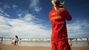 RNLI lifeguards