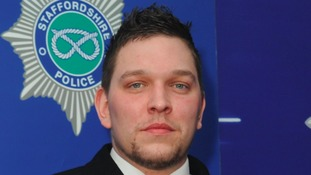 PC David Beech was found dead at his home in Stoke on Sunday