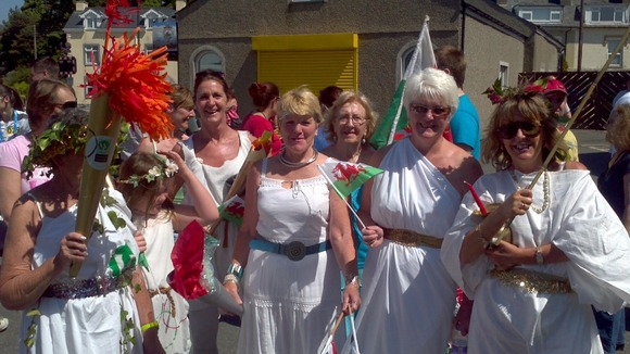 A group of women in Porthmadog