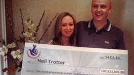 Surrey mechanic wins £108m lottery jackpot