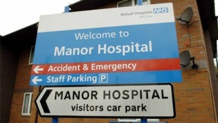 Walsall Manor Hospital says the foetuses were not cremated due to an administrative error