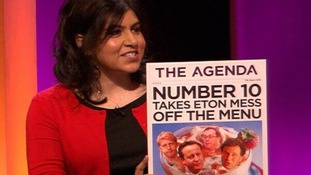 Baroness Warsi calls for an end to 'Eton Mess'