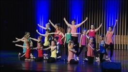 Children take to the stage for Gateshead Dance Festival
