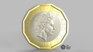 New 12-sided £1 coin unveiled