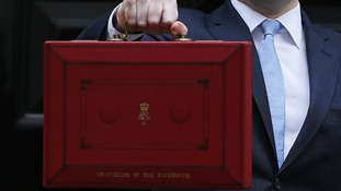 The Chancellor and the budget.