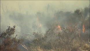 Dartmoor ablaze
