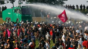 Police a step closer to being armed with water cannon
