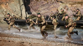 Somerset's Royal Marines exercise in Devon & Cornwall