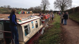 Grand re-opening of the Great Western Canal near Tiverton