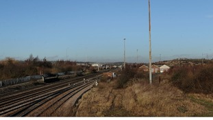 The proposed site of the HS2 East Midlands Hub in Long Eaton, Nottinghamshire.