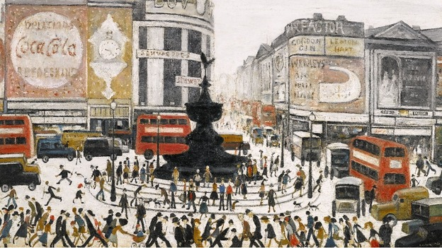 Lowry paintings expected to fetch millions at auction | Anglia ...
