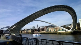 The Gateshead Millennium Bridge