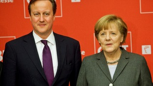 David Cameron and Angela Merkel agreed to 'build on' travel bans alreayd in place.