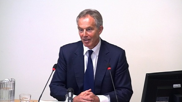 Former Prime Minister Tony Blair. 
