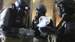 A U.N. chemical weapons expert gathers evidence in Damascus.