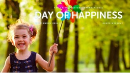 International Day of Happiness: Your photos