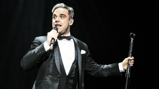 Robbie Williams has been awarded the Freedom of the City for Stoke-on-Trent