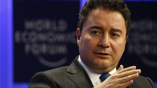 Turkey's Deputy Prime Minister Ali Babacan