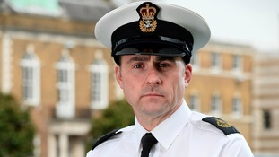 Chief Petty Officer Neil Halsey, who has been awarded a Queen's Commendation for bravery