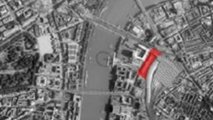 The development is planned for space behind Waterloo Station