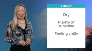 Sunday's weather forecast