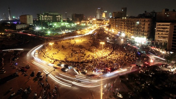 Egypt violence in Tahrir Square