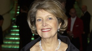 Anne Reid smiling at an awards dinner