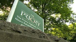 Picture of Priory Highbank centre sign