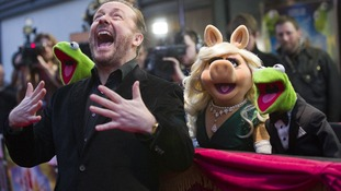 Ricky Gervais: 'My best buddy is an evil Russian frog'