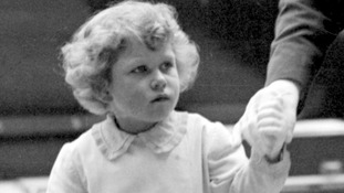 Princess Elizabeth aged 4 at the Royal Tournament at Olympia, London
