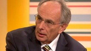 MP Peter Bone speaking on ITV's Daybreak.