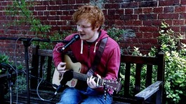 Ed Sheeran gives clothes to charity