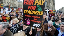 Schools close as teachers strike