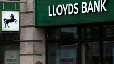 File photo of Lloyds Bank sign.