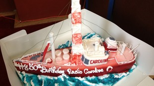 Radio Caroline birthday cake