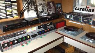 Radio Caroline studio
