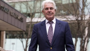 Max Clifford outside Southwark Crown Court.