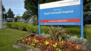 The Royal Cornwall Hospital in Truro was inspected in January.