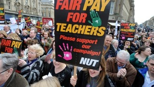 Nearly 200 NE schools close as teachers strike