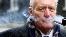Tony Benn makes final journey