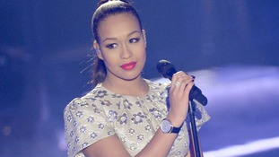 Rebecca Ferguson performing on The Graham Norton Show.