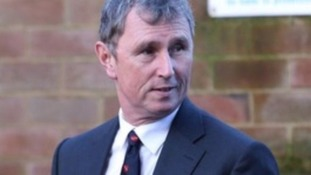 Nigel Evans leaving Preston Crown Court