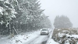 Alex's weather blog: Snow on Dartmoor