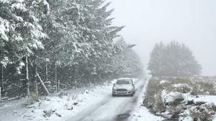 Alex's weather blog: Snow on Dartmoor
